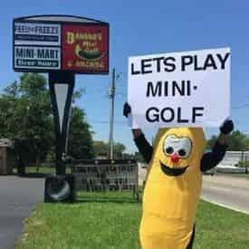 Mini Golf & Arcade Package