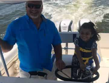 Kids Inshore Fishing Trip with Gulf Island Charters