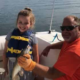 Kids Inshore Fishing Trip with Gulf Island Charters