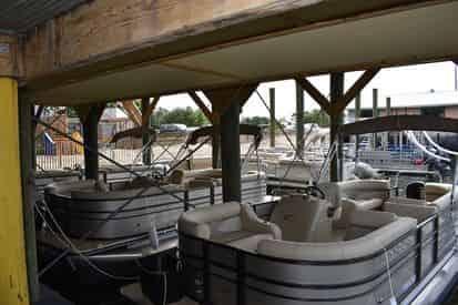 OB Watersports Half Day Tritoon Boat Rental