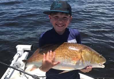 2 Hour Kid's Fishing Trip with Rolling Tide Charters