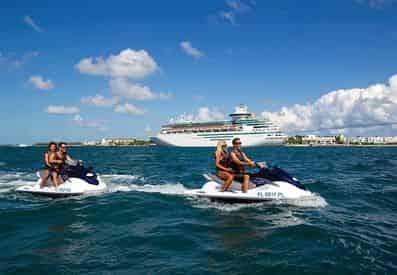 Jet Ski Island Tour of Key West