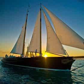 Key West Sunset Sail on America 2.0