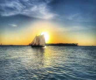Key West Sunset Sail on America 2.0