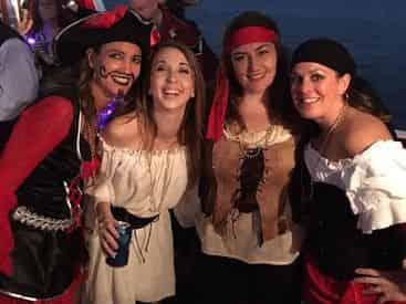 Captain Memo's Champagne Pirate Cruise