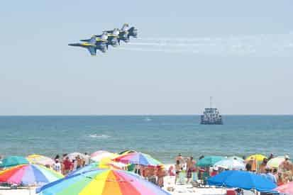 Private Blue Angels Practice Show Cruise by Blue Water Charters