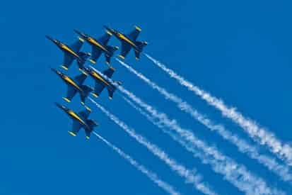 Private Blue Angels Flight Show Cruise by Blue Water Charters
