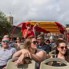 New Orleans Double Decker Hop-On Hop-Off Bus Tours
