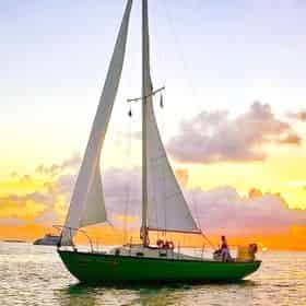 Private Sunset Sail Aboard the High Tide
