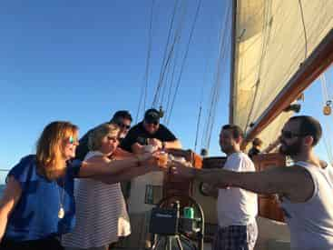 Sunset Sail Aboard the Historic When and If