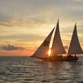 Schooner Champagne Sunset Sail by Sebago Watersports