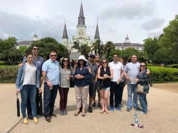 French Quarter History Tour with Destination Kitchen