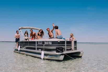 Pontoon and Jet Ski Combo Package from Power Up Watersports