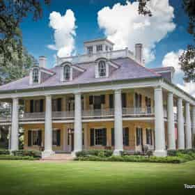 Houmas House & San Francisco Plantation Mansion Tour with Lunch & Transportation from New Orleans