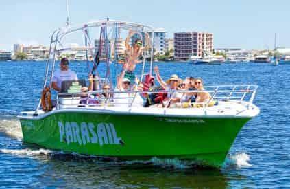 Destin Crab Island Parasailing