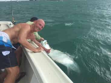 Private 6-Hour Tarpon Charter with Light Tackle Adventures