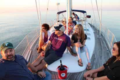 2 Hour Sunset Sail with New Orleans Yacht Experience