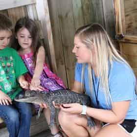 Kids Reptile Safari at Gulfarium Marine Adventure Park