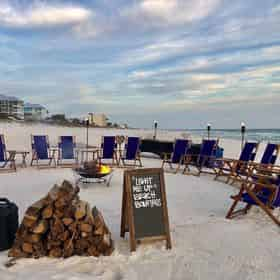 Light Me Up Beach Bonfires in South Walton/30A