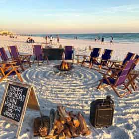 Light Me Up Beach Bonfires in Panama City Beach and Bay County