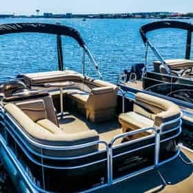 10 Passenger Pontoon Rental Departing from Fort Walton Beach