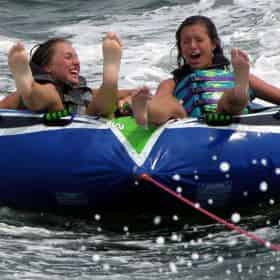 Adventure Tour with Inflatable Waterpark From Destiny Water Adventures
