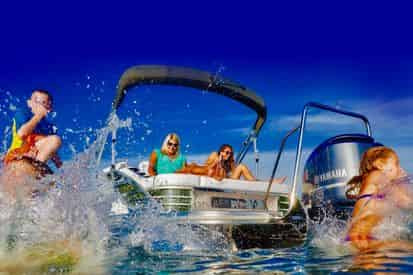 10-12 Passenger Pontoon Rental Departing from Fort Walton Beach