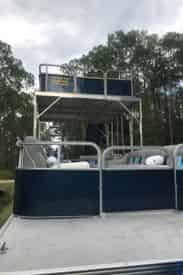 OLD 30A Double Decker Pontoon Boat Rental with Slide