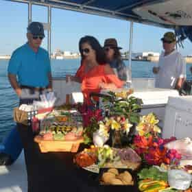 Seabreeze Sunset Harbor Cruise with Wine and Beer