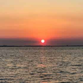 All-Inclusive Captained Sunset Pontoon Cruise with Destin Pontoon Charters