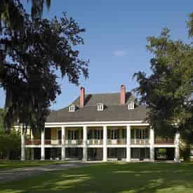 Destrehan Plantation & Small Airboat Combo with Transportation from New Orleans