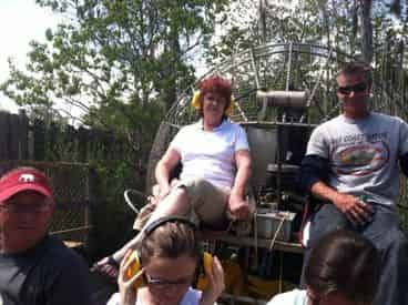 Airboat Swamp Ride & Alligator Farm Experience