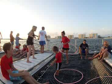 Sunset Dolphin & Snorkel Cruise with Cattywampus Aquatic Adventures