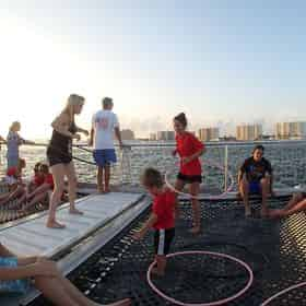 Sunset Dolphin & Snorkel Cruise with Cattywampus Aquatic Adventures