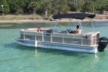 Xtreme H20 Pontoon Boat Rental - Departing From Fort Walton Beach