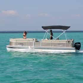Xtreme H20 Pontoon Boat Rental - Departing From Fort Walton Beach