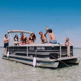 Luxury Pontoon Rentals with Power Up Watersports