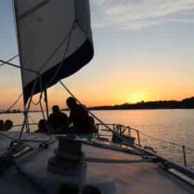 Evening Sunset Sail with Sailing Moby