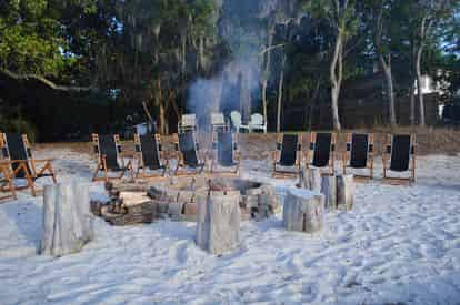 Private Destin Beach Bonfire Package