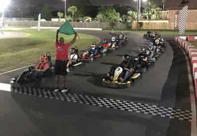Outdoor High Performance Go Karting