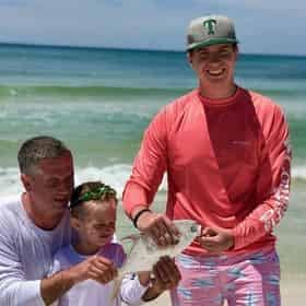 Surf Fishing Rod & Reel Package Rental with Reel 30A® Outfitters