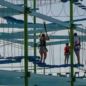 Ropes Course at Premier Adventure Park