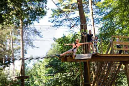 Go Ape! Treetop Adventure Zipline Course Myrtle Beach
