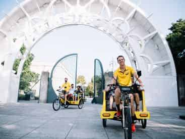 Private French Quarter and Garden District Pedicab Tour