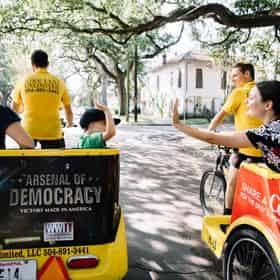 Private French Quarter and Garden District Tour with New Orleans Pedicab Tours