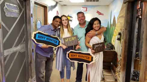 Gold Mine Escape Room at Hinter Hunters