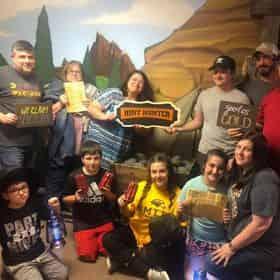 Gold Mine Escape Room at Hinter Hunters