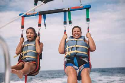 Banana Boat & Parasailing Combo with Wet-N-Wild Watersports