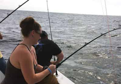 4.5 Hour Fishing Trip Aboard the Hurricane II