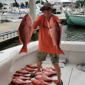 Private Near & Offshore Fishing Charters with C & R Charters